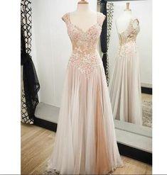 Charming Prom Dress,Floor Length Prom Dress,Tulle Prom Dress,Long