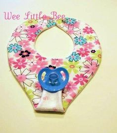 5 Best Images of Printable Bib Pattern Pacifier - Free Baby Bib Pacifier Holder Pattern, Free Baby Bib Pattern Template and Pacifier Binky Bib Patterns Free Baby Bibs Patterns, Sewing Patterns Free, Sewing Tutorials, Pattern Sewing, Sewing Tips, Sewing Ideas, Baby Sewing Projects, Sewing For Kids, Sewing Crafts