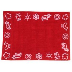 Detský koberec LORENA CANALS Lorena Canals, Alexander Mcqueen Scarf, Personalized Gifts, Birthday, Red