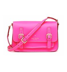 i don't think i could possibly love a purse more then i love my hot pink kate spade
