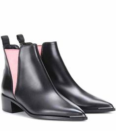Jensen leather ankle boots   Acne Studios