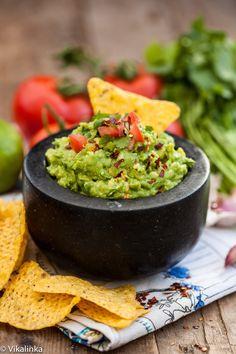 Spicy Guacamole-healthy, delicious and so quick!