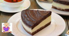 Vă prezentăm rețeta unui tort deosebit de gustos, care se prepară destul de ușor, din ingrediente disponibile. Fiecare gospodină, chiar și una începătoare, va reuși să-l gătească fără dificultate! Acest desert minunat constă din 2 blaturi de ciocolată, un strat gros de cremă de lămâie, pregătită pe bază de griș și glazură de ciocolată. Gustul lui intens și bogat vă va cuceri de la prima îmbucătură! INGREDIENTE (PENTRU O TAVĂ ROTUNDĂ, CU DIAMETRUL DE 24-28 CM): Pentru aluat: -160 g de făină… Mary Berry, Russian Recipes, Berries, Cheesecake, Pudding, Sweets, Cooking, Ethnic Recipes, Desserts