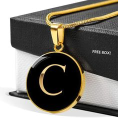 😍😍😍 This Letter C in Stainless Steel or Gold is the perfect gift for that Daughter,Mom or Best Friend who wants to know they are cherished   💛💛💛    This makes a great gift which can be  worn to any special formal occasion or every day reminding them of the special  person that gave it to them.     Comes with Free High-Quality Custom Gift Box.    100% Satisfaction Guaranteed