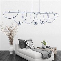 Deckenle Industriedesign eu lager led hängeleuchte modern ring design aus acryl 60cm 40cm