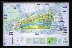 Оприёмах обозначения парков ирек насхемах
