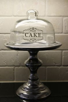 Cake vinyl on dome!  Joanna Gaines's Blog | HGTV Fixer Upper | Magnolia Homes