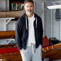 Men's Reliance Garments Full-Zip Hoodie | Guideboat Company
