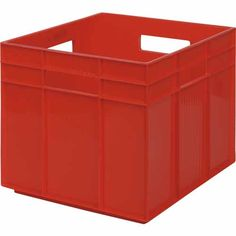 Perroplas GT Cube 28 Litre Red - Mitre 10 Storage Shelves, Shelving, Plastic Storage, The Office, Outdoor Furniture, Outdoor Decor, Storage Solutions, Cube, Shed