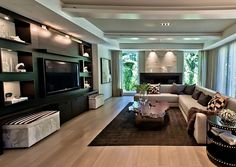 How to Incorporate Your TV into Your Home Decor                                                                                                                                                                                 Mais