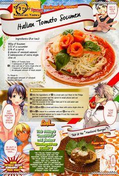 Italian Tomato Soumen