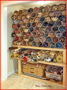 New Ideas leather workshop storage
