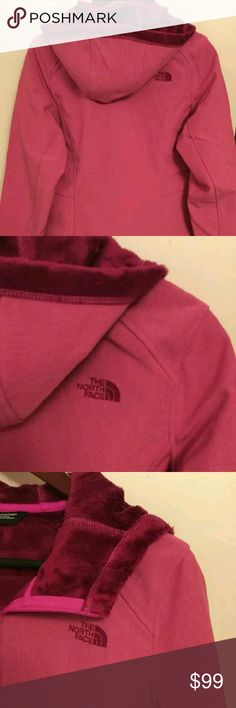 "THE NORTHFACE APEX BIONIC JACKET ?The North Face Apex Bionic JacketColor: Glo PinkSize: L (Womens)Chest: 42-43""Length: 26.5""Material: Polyester/ElasthanneCondition: New With TagsThanks for Looking. The North Face Jackets & Coats"