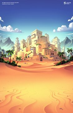 Game illustrations on Behance