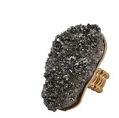 Metallic Rock Ring $3.99