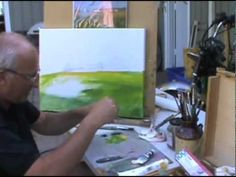 Oil Painting for beginners.... #1.....Field