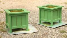 Petite Planters for the Potager | Do It Yourself Home Projects from Ana White