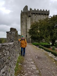 The love of my life at Blarney Castle