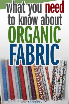 Are you considering using organic fabric? Know where to buy? In this interview, I talked with a fabric store owner all about using organic fabric so that you can make an informed decision next time you're looking for where to buy fabric. Sewing Basics, Sewing Hacks, Sewing Ideas, Fabric Embellishment, Fabric Combinations, Sustainable Fabrics, Buy Fabric, Sewing Tools, Sewing Projects For Beginners