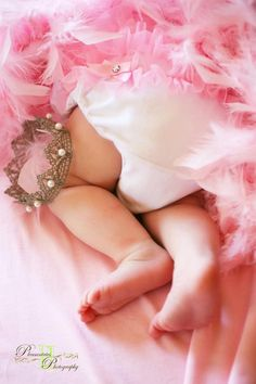 I'm not a fan of pink... or even the princess thing. But this is still cute.