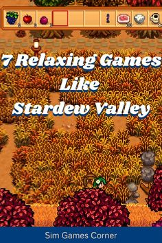Burnout from Stardew Valley and want to play a different relaxing simulation game? This list of 7 Relaxing Simulation Games Like Stardew Valley is bound to cure your boredom. The list contains games with romance, games without farming, and games that are 100% free. I BET THAT THERE ARE EVEN GAMES ON HERE YOU HAVE NOT HEARD ABOUT!! Go ahead, check out the post and start playing a new game like Stardew Valley! #gaming #stardewvalley #simulationgames Sims Games, Pc Games, Card Games, Stardew Valley Tips, Life Sim, Humble Bundle, All Video Games, Ps4 Or Xbox One, Game Info