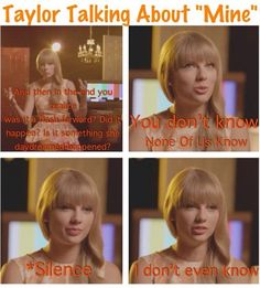 Oh, Taylor. . .