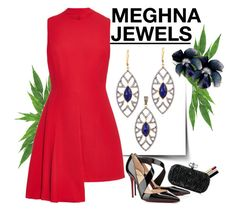 MEGHNA JEWELS-Bora Bora collection by gabyidc on Polyvore featuring polyvore fashion style Versace Christian Louboutin Marchesa Chanel clothing