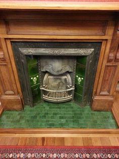 1920's fireplace insert - Google Search