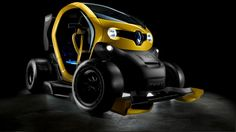 Renault Twizy R.S. F1 Cento cavalli per lelettrica francese