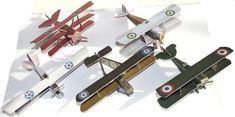5 Simple WWI Biplanes Free Aircraft Paper Models Download - http://www.papercraftsquare.com/5-simple-wwi-biplanes-free-aircraft-paper-models-download.html#AircraftPaperModel, #Biplane, #Triplane, #WWI