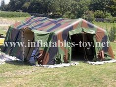 Emergency Relief Army Tents Inflatable Military Tent supported by columns one by one and they share & Inflatable Medical Tent Inflatable Army TentMilitary Tents ...