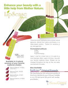 Natural Beauty! LipSense Naturals