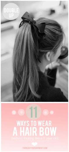 TBDbow1 #hairbow #hair #bows #hairstyle #thebeautydepartment