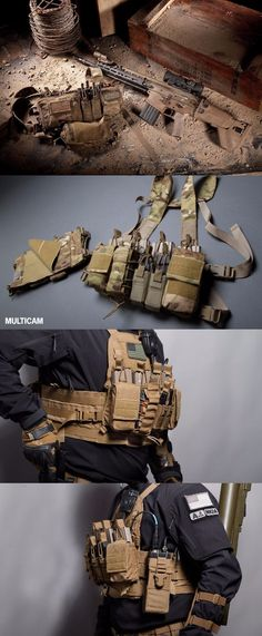 Haley Strategic Partners Disruptive Environments D3CR-H Heavy Chest Rig Tactical Vest