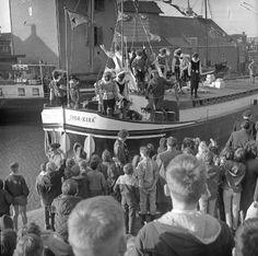 Sinterklaas aankomst in Goes, 1963