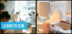 Aimed at absolute beginners our sewing classes get you started with knowledge of how to choose a sewing machine