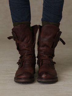 Rayna Wrap Boot at Free People Clothing Boutique!   Omgosh I just bought these yesterday and love them!