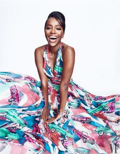Aja Naomi King Shines Bright in Vanity Fair - COLOURES | Celebrating Beauty of All Shapes and Shades