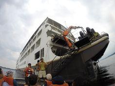 O navio #IberostarGrandAmazon