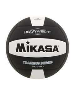 The Mikasa MGV500 Setter's Ball helps strengthen wrists and hands to improve set distance. #Mikasa #Setter #WeightedBall #StrengthTraining #TrainingTool #Equipment #Athlete #Volleyball