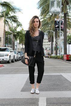 #fashion #blog #blogger #style #sandro #forever21 #zara #satchel #styleblog #black #ootd #silvershoes #rodeodr #beverlyhills #barneys #messenger #bag #shopping