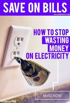 These 10 ways to save money on utilities are the best! I was able to save so much money on my electricity bill with these simple money saving tips! Save Money On Groceries, Ways To Save Money, Money Saving Tips, Money Tips, Money Hacks, Money Plan, Frugal Living Tips, Frugal Tips, Electricity Bill