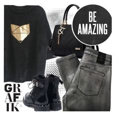 """Be Amazing!"" by ansev ❤ liked on Polyvore featuring 2nd Day and zaful"