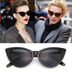 942539eafdfac Barato 2018 Moda Olho de Gato Óculos De Sol Das Mulheres Designer de Marca  Óculos de