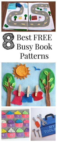 busy book patterns and FREE! I want to make one!