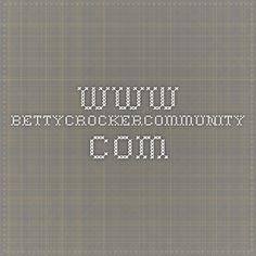 www.bettycrockercommunity.com