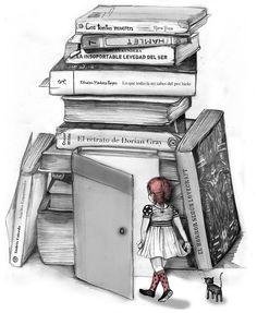 Книга - это вход в удивительный мир...