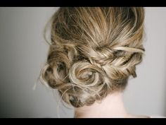 The Fishtail Twist Updo Tutorial - NO This is potentially a GORGEOUS updo, but takes too long for me.