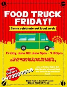 Find Events ads in Mildura Region, VIC. Buy and sell almost anything on Gumtree classifieds. Food Truck Festival, Festival Flyer, Event Flyers, Friday, Trucks, Ads, Marketing, June