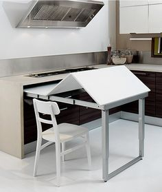 1000 images about pull out tables on pinterest ironing board tables tables and frames - Pull out kitchen table ...